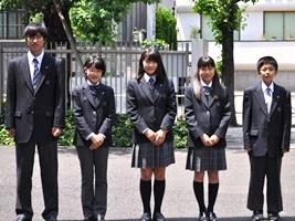 桜修館中等教育学校制服