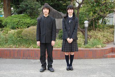 東京都立 両国高等学校 附属中学校制服